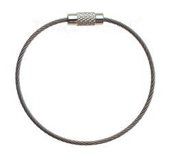 4-er Packung Ringsplinte Edelstahl V4A Rostfrei Ring-Splint Niro Sicherungsringe