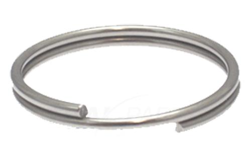 50 Stück Schlüsselringe 26mm Edelstahl Rostfrei Sicherungsringe Schlüsselring