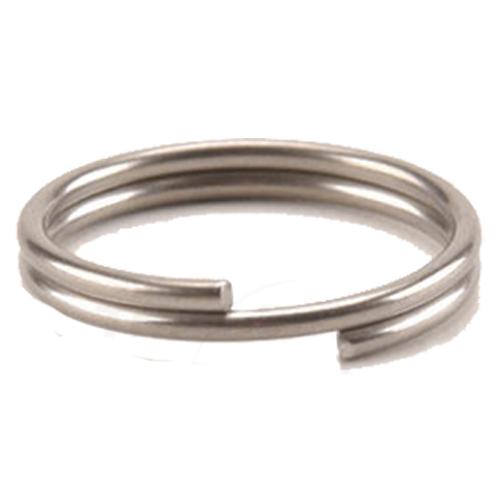 10 Stück D-Ring 13,3 x 10 mm vernickelt Schuhringhaken aus Eisen