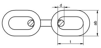 30 Meter Kette DIN 763-C langgliedrig verzinkt 5 mm Gliederkette Stahlkette