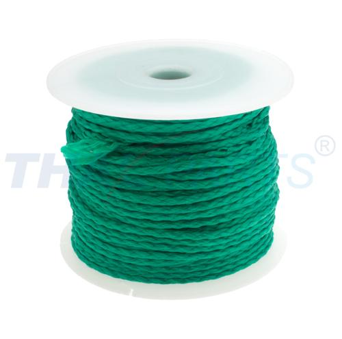 12 x geflochten grün Schnur 50m PP Universalschnur 3,0mm