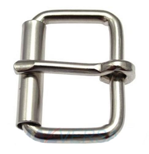 Schnallen-Gurtschnalle-G/ürtelschnalle 25mm Stahl vernickelt 5 St/ück