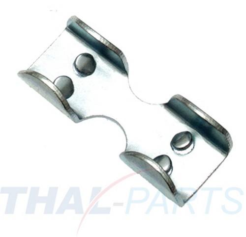 10 x Aluminium Pressklemmen f Seil 4mm Presshülsen ALU Presshülse Pressklemme